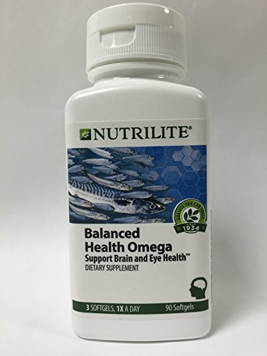 Nutrilite Balanced Health Omega Softgels product image
