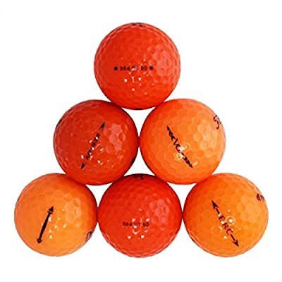Orange Ball Mix Mint Recycled Golf Balls (24 Pack)