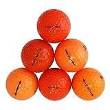 Orange Value Brand Mix Value Mint Quality Golf Balls - 24 Pack