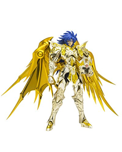 Bandai Tamashii Nations Saint Cloth Myth Ex Gemini Saga (God Cloth) Saint Seiya-Soul of Gold Action Figure - Saint Gold