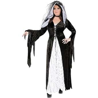 Bride of Darkness Costume - Plus Size 1X/2X - Dress Size 16-22