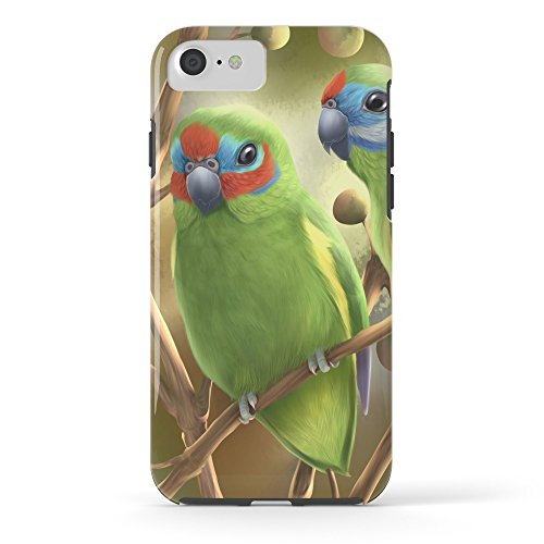 Society6 Double-eyed Fig Parrot Tough Case iPhone 7 - Fig Parrot