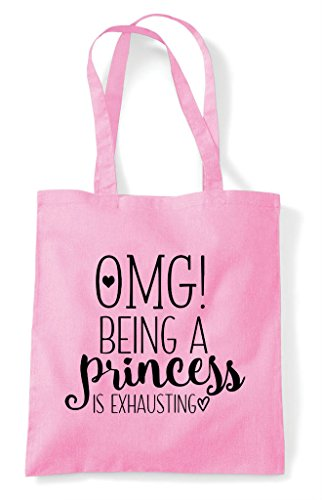 My Shopper A Light Being God Pink Tote Oh Is Princess Statement Bag Exhausting 1Fxv4Twdq