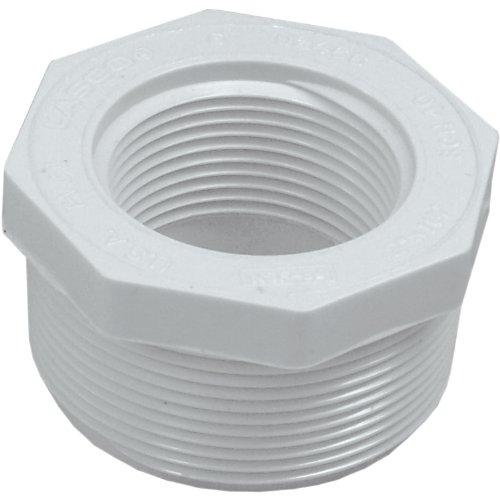 (Genova Products 34324 PVC Reducing Bushing, 2