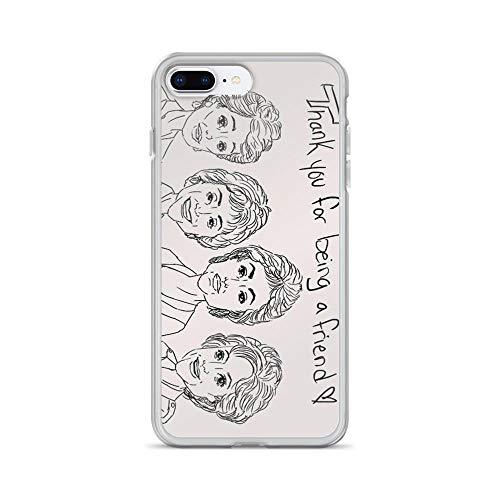 iPhone 7 Plus/iPhone 8 Plus Case Cases Clear Anti-Scratch Golden Girls Cover Case for iPhone 7 Plus, iPhone 8 Plus ()
