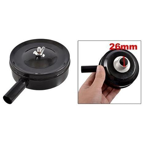 eDealMax 1 macho PT hilos de metal Compresor de aire filtro silenciador Silenciador Negro - - Amazon.com