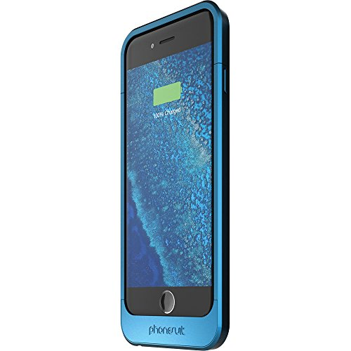 Phonesuit Elite 2200 mAh Extended Capacity Battery for iPhone 6/6S - Retail Packaging - Blue