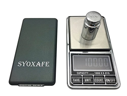 SYOXAFE Bamboo Rolling Tray Kit with 8-in-1 includes Herb Grinder Pocket Scale Cigarette Roller by SYOXAFE (Image #3)