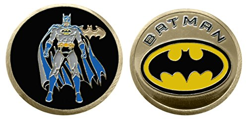 Logo Challenge Coin - Batman - Character Collectible Challenge Coin / Logo Poker / Lucky Chip