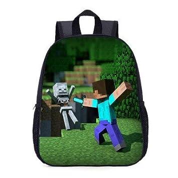 Minecraft - Mochila para niños y niñas: Amazon.es: Hogar