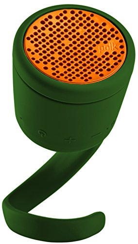 (BOOM Swimmer DUO - Dirt, Shock, Waterproof Bluetooth Speaker with Stereo Pairing (Green))