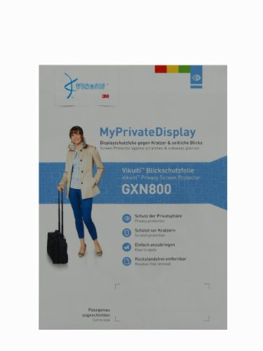 Vikuiti Privacy Screen Protector GXN800 for GoClever DVR Extreme Gold, No more uninvited views - Clear view from the front - Easy application & removal - Ultra-thin - yet highly robust by Vikuiti