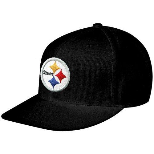 ピッツバーグスティーラーズリーボックNFLブラックFitted Hat 7.25  B00B1F07NS