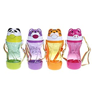 1 Pc Baby Water Bottles Toddler Drinks Bottle Active Straw Cup 12 Months+ Water Juice Cup Bottles Children Gift Large…