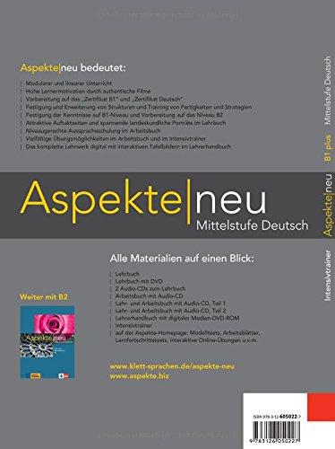 Aspekte Intensivtriner B1 Neubearbeitung Mittelstufe Deutsch
