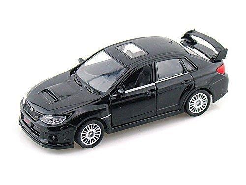 1:36 Scale Subaru WRX STI Race Diecast Model Car Toys Pull Back action BLACK Wrx Sti Race