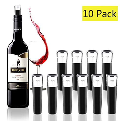 Vacuum Wine Bottle Stoppers,Reusable Wine Bottle Corks,Wine Pump Beverage Bottle Stopper for Champagne and Wine Saver