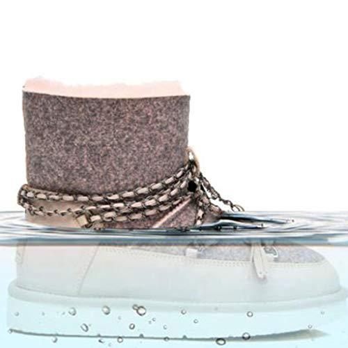 Montone Stivaletto Scarponi Scarpe 40 Da Basse Passeggio Camping Size Locomotive Pink Outdoor Uno Impermeabile E Pink Neve Casual Rovesciato Antiscivolo color 0wvqX0r