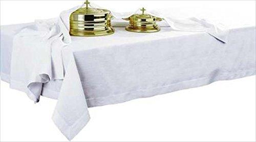 Linen Table Cover Communion - Artistic Churchware Communion Table Cover [Plain] 50% Poly/50% Rayon