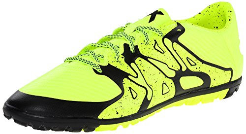 adidas Performance Men's X 15.3 TF Soccer Shoe,Solar Yellow/