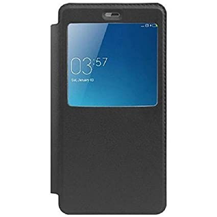 new arrival ad11f 64fbb SmartLike Oppo Neo 7 A33F Window Leather Flip Cover for: Amazon.in ...