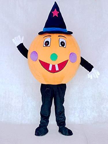 rushopn Pumpkin Mascot Costumes Plant]()
