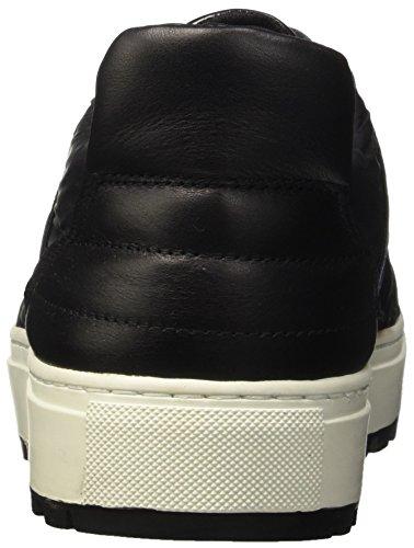 Bikkembergs Track-er 770 Low Shoe M Leather/Fabric, Sandalias con Plataforma para Hombre Azul