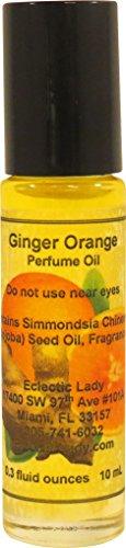 Ginger Orange Perfume Oil, Small