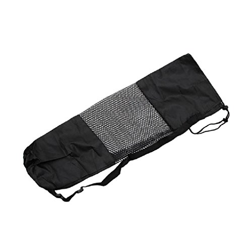 Tannhu Adjustable Strap Nylon Yoga Mat Bag, Efficient and Lightweight, Machine Washable, Fits Most Yoga or Pilates Mat Sizes,for Women and Men, Fitness Gym Bag, Indoor or Outdoor Exercise Sport
