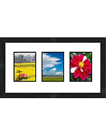Amazon.com - Black Collage Picture Frame 3 openings for 8X10 pictures -