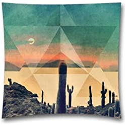 AM Kingdom Leif Podhajsky Cover Tame Impala Music Throw Pillow Cushion Covers 18 x 18 Inch (45x45 Cm)