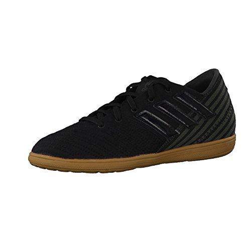 adidas Nemeziz 17.4 In Sala, Zapatillas de Fútbol para Niños Negro (Core Black/core Black/utility Black)