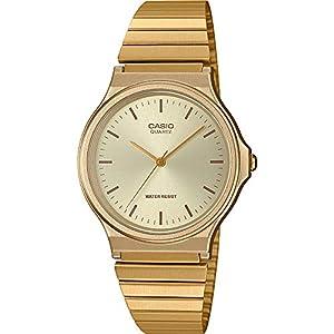 Reloj Casio analógico color oro