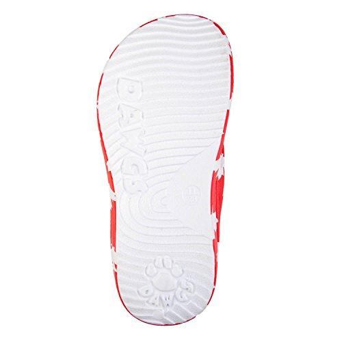 Dawgs Barn Flip Flops Canada (rød / Hvit)