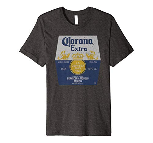 Corona Extra Bottle Label Premium T-Shirt