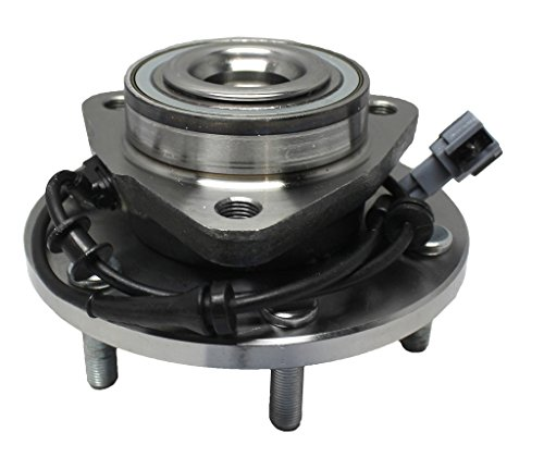 Detroit Axle Front Driver or Passenger Side Complete Wheel Hub & Bearing Assembly Fits Nissan & Infiniti Trucks -4WD/AWD ONLY