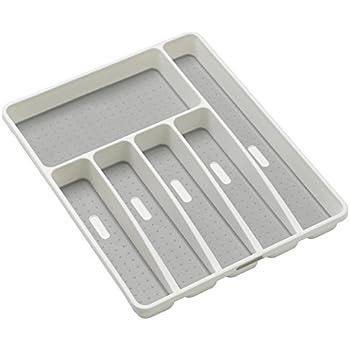 Amazon Com Rubbermaid Silverware Cutlery Tray White