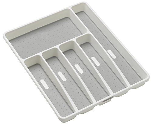 Madesmart Large Silverware Tray, White