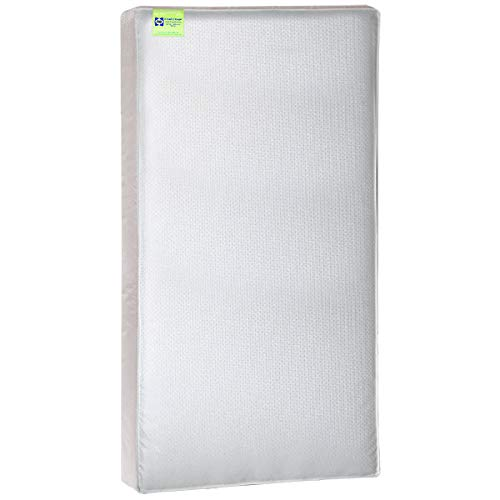 """Sealy Select 2-Cool 2-Stage Lightweight Waterproof Toddler & Baby Crib Mattress - High-Density Soybean Foam-Core, 51.63"""" x 27.25"""""""