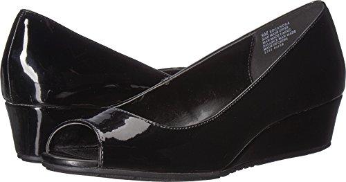 Bandolino Women's Candra Black Patent Sleek Patent Pu 11 W US