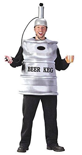 Beer Keg Halloween Costumes (Beer Keg Adult Halloween Costume - Most Adults)