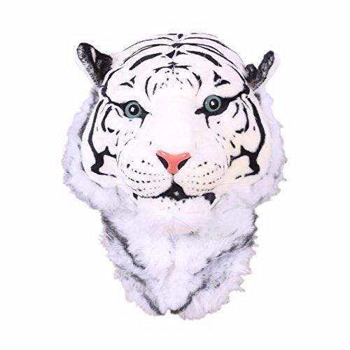 Hip Style Wild Animal Tiger Head Bag Backpack Knapsack, White (Tiger Head Rug)