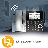 AT&T CL84107 DECT 6.0 Expandable Corded/Cordless