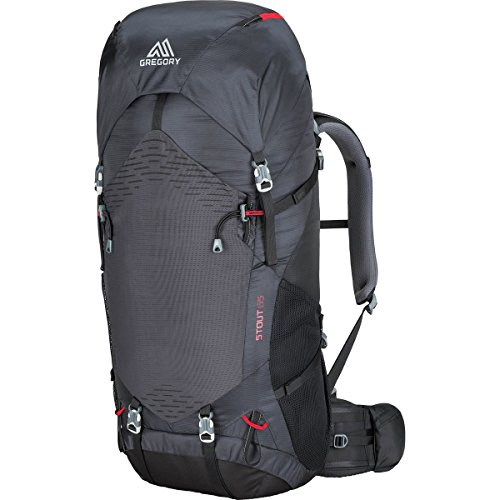 Gregory Mountain Products Stout 65 Liter Men's Backpack, Coal Grey, One Size