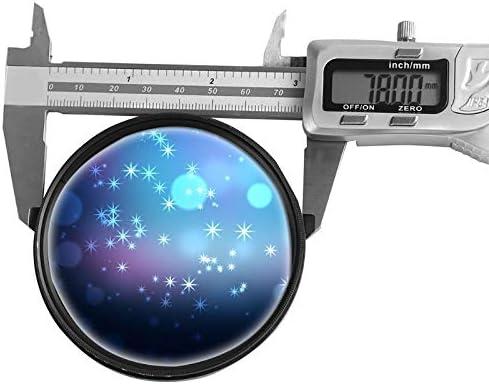 Sala-Deco Slim 72mm//82mm Variable Adjustable Neutral Density ND2 to ND400 ND Lens Filter Variable Filter for DSLR Camera