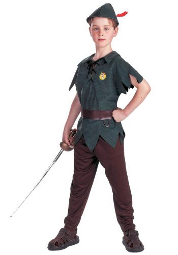 Peter Pan Standard Toddler Costume: Size 3T-4T (Toddler Peter Pan Costume compare prices)