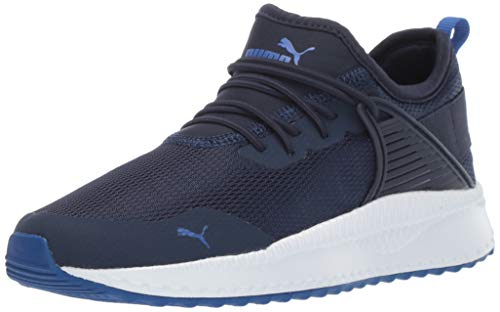 (PUMA Unisex-Baby Pacer Next Cage Sneaker, Peacoat-surf The Web, 6 M US)