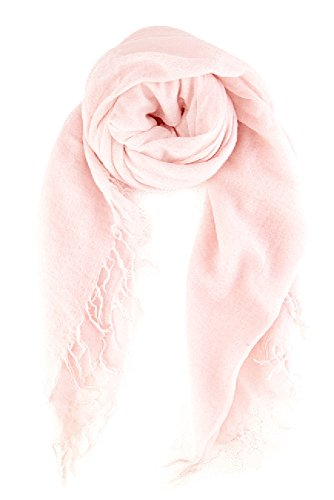 Chan LUU NEW Mauve Chalk Cashmere & Silk Soft Scarf Shawl Wrap by Chan Luu