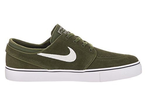 Nike Zoom Stefan Janoski, Zapatillas de Skateboard para Hombre Legion Green/White Black