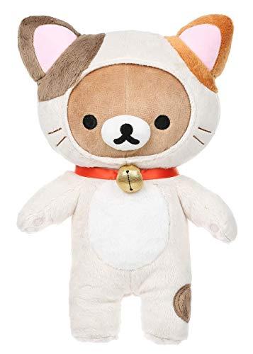 Rilakkuma Cat Plush | Brown & White Neko Plushie 1